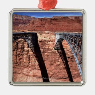 USA, Arizona, View of Navajo Bridge in Grand Christmas Ornament