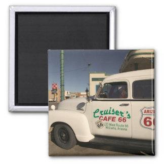 USA, Arizona, Williams: Cruisers Cafe 66 Old Magnet