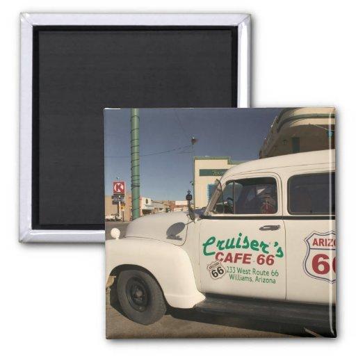 USA, Arizona, Williams: Cruisers Cafe 66 Old Magnets