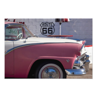 USA Arizona Williams Rt 66 Town 1950 s Photo Art