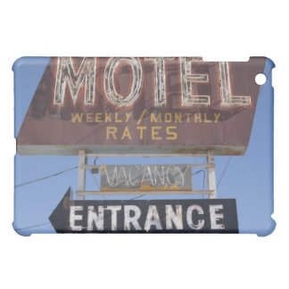 USA, Arizona, Winslow, Old-fashioned motel sign iPad Mini Case