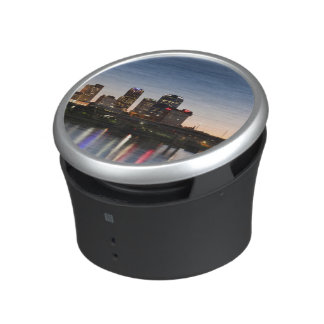 USA, Arkansas, Little Rock, City Skyline Bluetooth Speaker