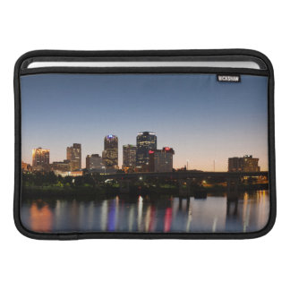 USA, Arkansas, Little Rock, City Skyline Sleeve For MacBook Air