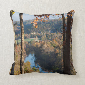 USA, Arkansas, War Eagle, Hobbs State Park Pillow