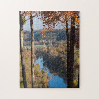 USA, Arkansas, War Eagle, Hobbs State Park Jigsaw Puzzle