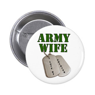 usa-army wife-tags 6 cm round badge