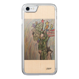 USA art 2 Carved iPhone 8/7 Case
