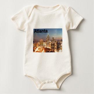 USA atlanta Downtown at night (St.K) Baby Bodysuit