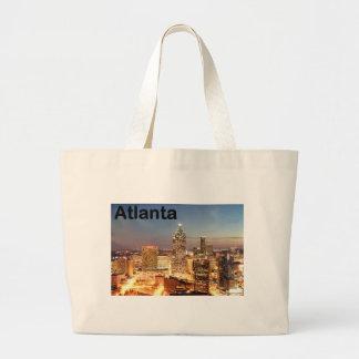 USA atlanta Downtown at night (St.K) Jumbo Tote Bag