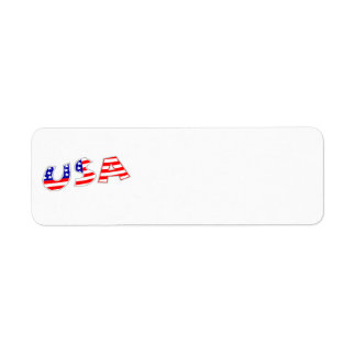 USA Avery Label Return Address Label