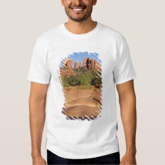 USA, AZ, Cathedral Rocks at Red Rock Crossing Shirts