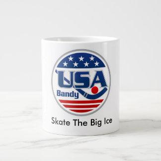 USA Bandy Big Coffee Mug