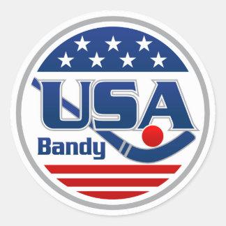 USA Bandy Sticker