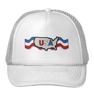 USA banner hat