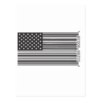 USA Barcode Post Cards