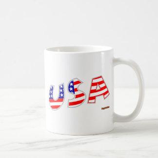USA BASIC WHITE MUG