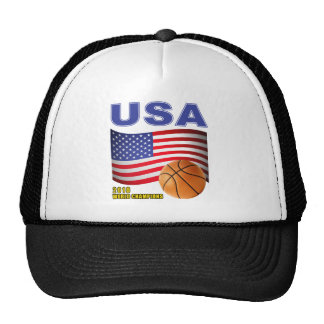 USA Basketball World Champions 2010 Cap
