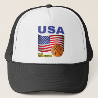 USA Basketball World Champions 2010 Trucker Hat