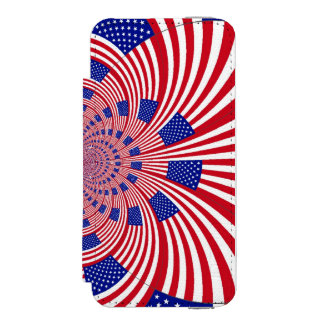 USA Beautiful Pretty Uniquely Exceptional Incipio Watson™ iPhone 5 Wallet Case