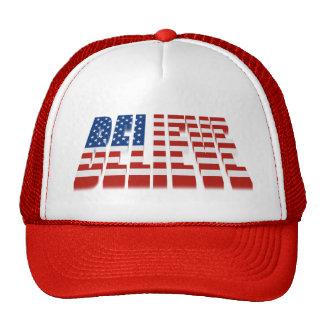 USA BELIEVE Hat Hat