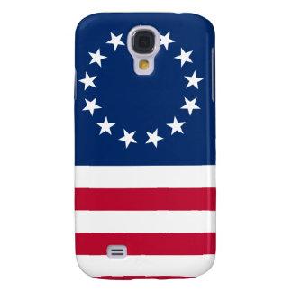 usa betsy flag stars galaxy s4 case