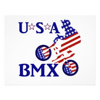 USA BMX - American Cyclist Flyer