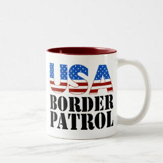 USA Border Patrol Mug
