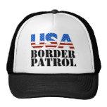 USA Border Patrol Trucker Hats