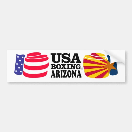 USA Boxing Arizona Bumper Sticker