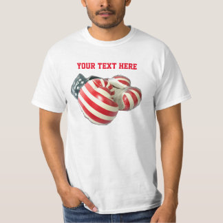 usa boxing gloves tshirt