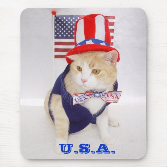 USA Bubba Mousepad