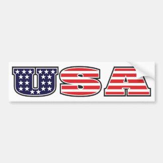 USA BUMPER STICKERS