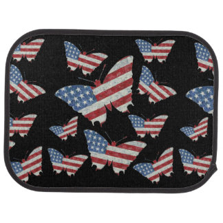 USA Butterflies Car Mat