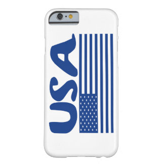 USA BY EKLEKTIX PATRIOTIC AMERICAN STUFF BARELY THERE iPhone 6 CASE