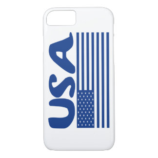 USA BY EKLEKTIX PATRIOTIC AMERICAN STUFF iPhone 7 CASE