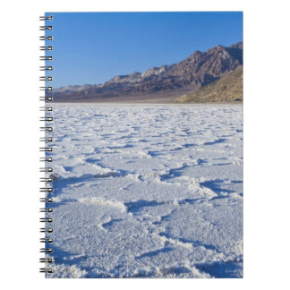 USA, CA, Death Valley NP, Salt Formations at Spiral Note Book