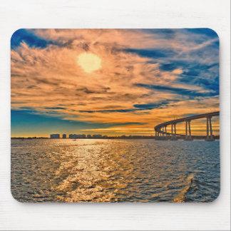 USA, CA, San Diego-Coronado Bay Bridge Mouse Mat