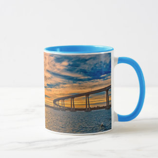 USA, CA, San Diego-Coronado Bay Bridge Mug