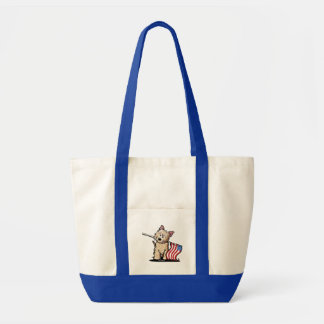USA Cairn Terrier Grocery Tote