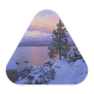 USA, California. A winter day at Lake Tahoe.