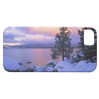 USA, California. A winter day at Lake Tahoe. Case For The iPhone 5
