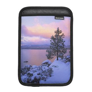 USA, California. A winter day at Lake Tahoe. iPad Mini Sleeve