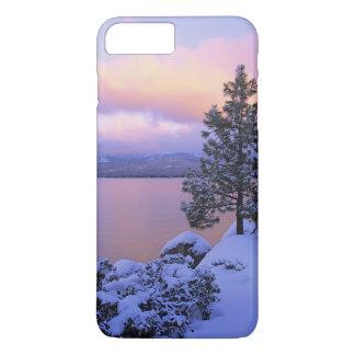 USA, California. A winter day at Lake Tahoe. iPhone 8 Plus/7 Plus Case