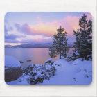 USA, California. A winter day at Lake Tahoe. Mouse Mat