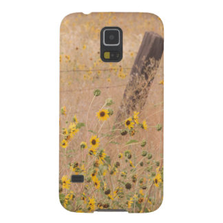 USA, California, Adin. Barbed-Wire Fence Case For Galaxy S5