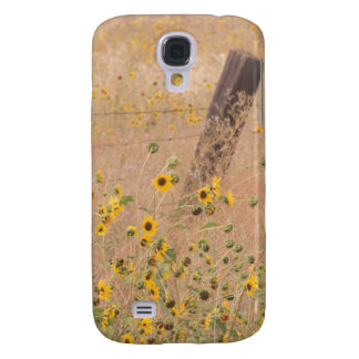 USA, California, Adin. Barbed-Wire Fence Galaxy S4 Case