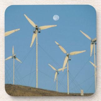 USA, California, Altamont Pass, wind generators. Beverage Coasters