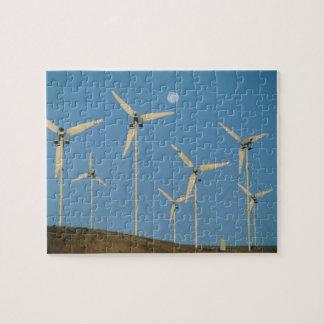 USA, California, Altamont Pass, wind generators. Jigsaw Puzzle