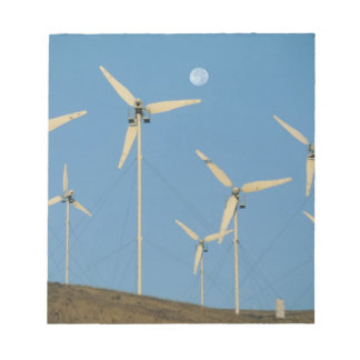 USA, California, Altamont Pass, wind generators. Memo Pads