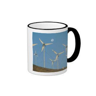 USA, California, Altamont Pass, wind generators. Ringer Mug